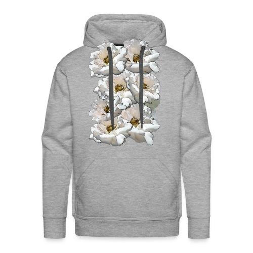 Sieben Rosen Collage - Männer Premium Hoodie