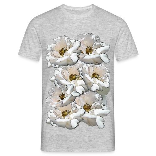 Sieben Rosen Collage - Männer T-Shirt