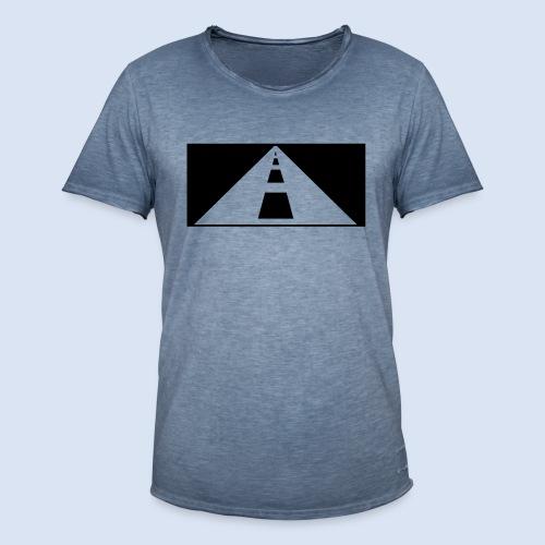 AUTOBAHN - AUF REISEN - Männer Vintage T-Shirt
