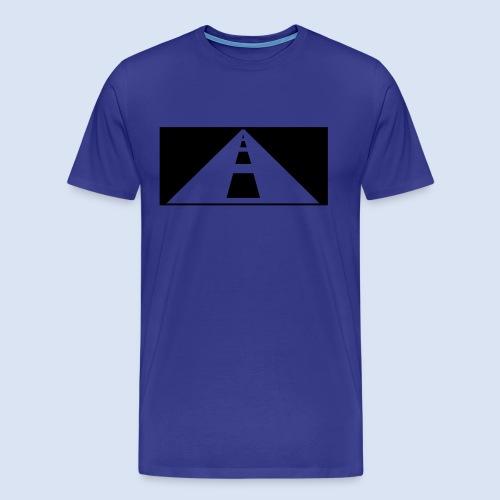 AUTOBAHN - AUF REISEN - Männer Premium T-Shirt
