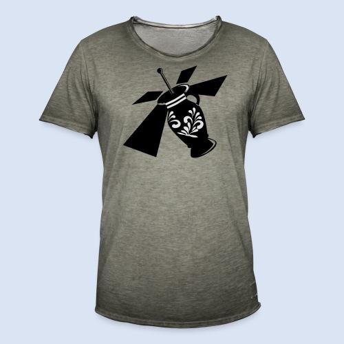 FRANKFURT SHIRT - Bembel Drohne Bembeltown - Männer Vintage T-Shirt
