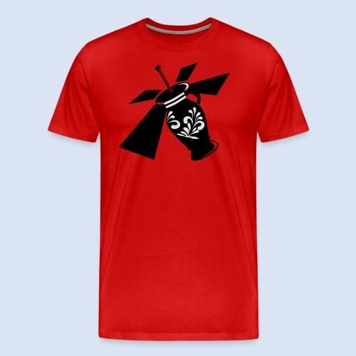 FRANKFURT SHIRT - Bembel Drohne Bembeltown - Männer Premium T-Shirt