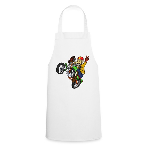 Trial Moto - Delantal de cocina