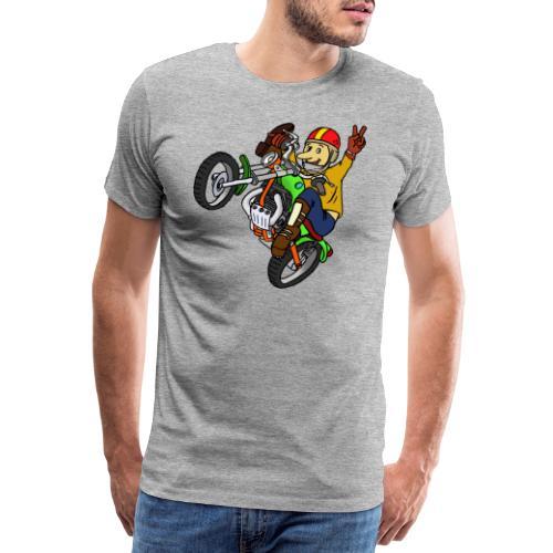 Trial Moto - Camiseta premium hombre