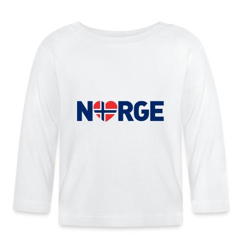 Elsker Norge - Langarmet baby-T-skjorte