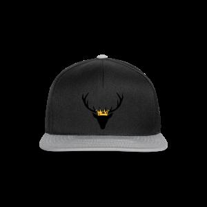 Hirschgeweih mit Krone Shirt - Snapback Cap