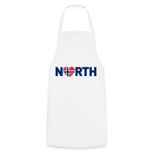 Nord-Norge på engelsk - Kokkeforkle