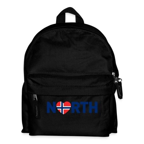 Nord-Norge på engelsk - Ryggsekk for barn