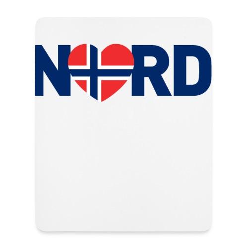 Nord og norsk - Musematte (stående format)