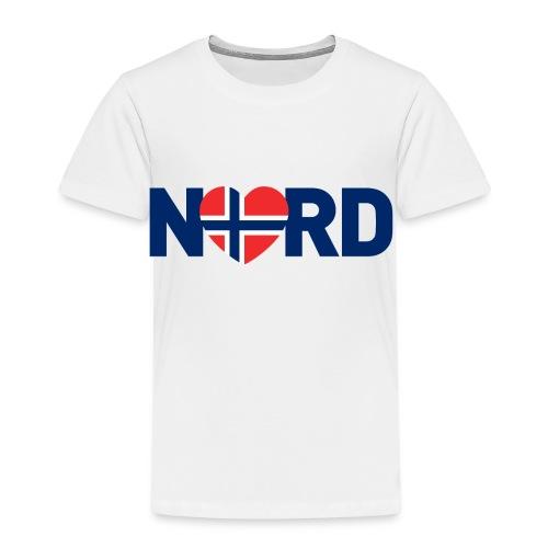 Nord og norsk - Premium T-skjorte for barn