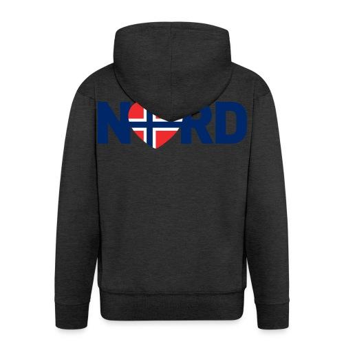 Nord og norsk - Premium Hettejakke for menn