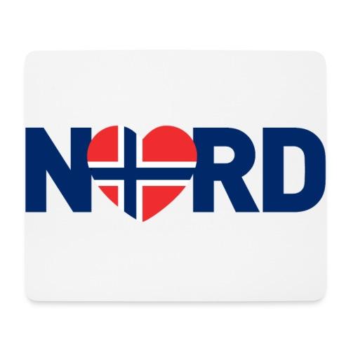 Nord og norsk - Musematte (liggende format)