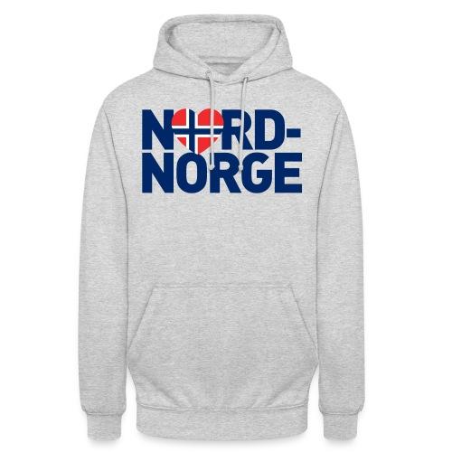 Elsker Nord-Norge - Unisex-hettegenser