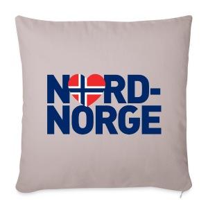 Elsker Nord-Norge - Sofaputetrekk 44 x 44 cm