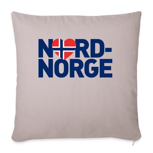 Elsker Nord-Norge - Sofaputetrekk 45 x 45 cm