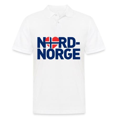 Elsker Nord-Norge - Poloskjorte for menn