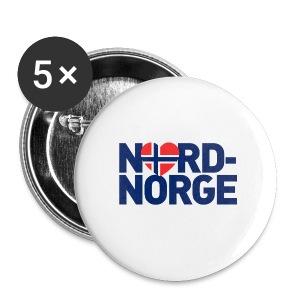 Elsker Nord-Norge - Middels pin 32 mm