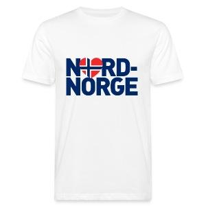 Elsker Nord-Norge - Økologisk T-skjorte for menn