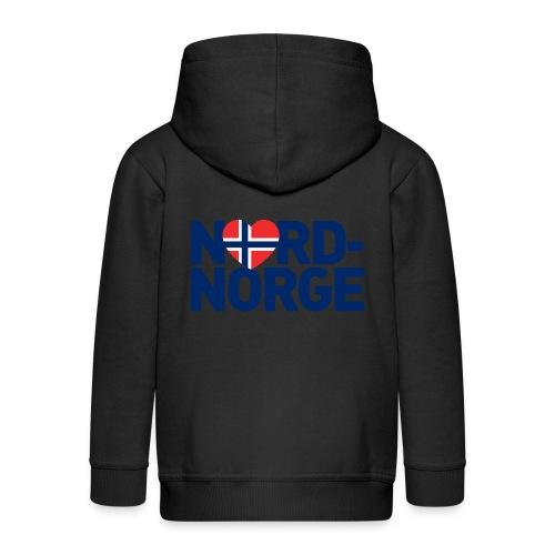 Elsker Nord-Norge - Premium Barne-hettejakke