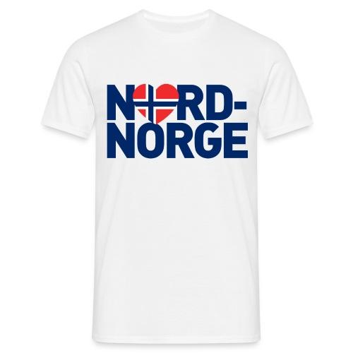 Elsker Nord-Norge - T-skjorte for menn
