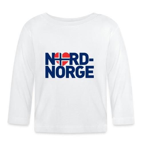 Elsker Nord-Norge - Langarmet baby-T-skjorte