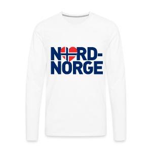 Elsker Nord-Norge - Premium langermet T-skjorte for menn