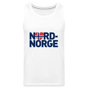 Elsker Nord-Norge - Premium singlet for menn