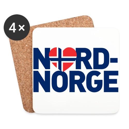 Elsker Nord-Norge - Brikker (sett med 4)