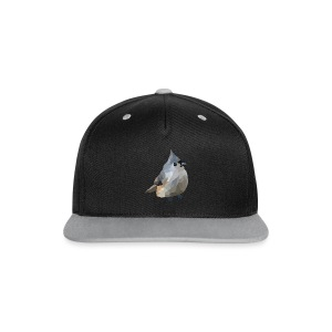 Polygon Art: Tufted Titmouse T-Shirts - Kontrast Snapback Cap