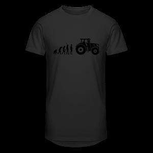 Evolution Traktor Shirt - Männer Urban Longshirt
