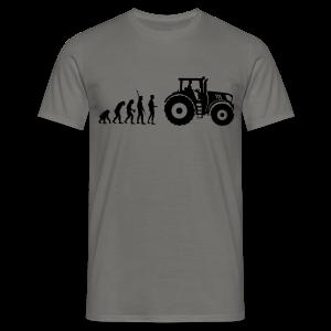 Evolution Traktor Shirt - Männer T-Shirt