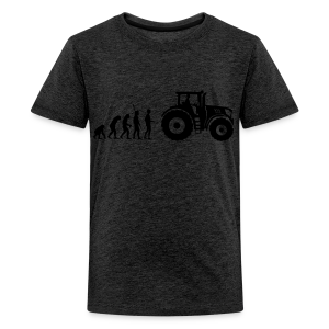 Evolution Traktor Shirt - Teenager Premium T-Shirt