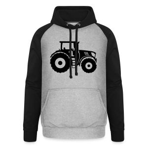 Traktor Shirt - Unisex Baseball Hoodie