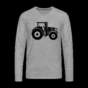 Traktor Shirt - Männer Premium Langarmshirt