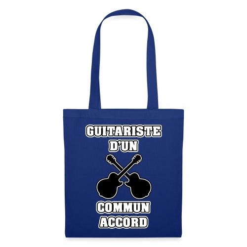 GUITARISTE D'UN COMMUN ACCORD - JEUX DE MOTS - FRANCOIS VILLE - Tote Bag
