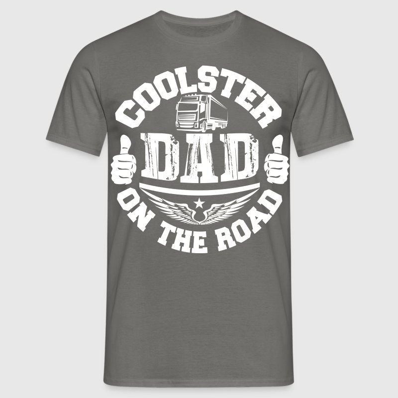 Coolster Dad on the road - Männer T-Shirt