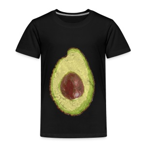 Trendy Yummy Avocado Grunge Style - Kinder Premium T-Shirt