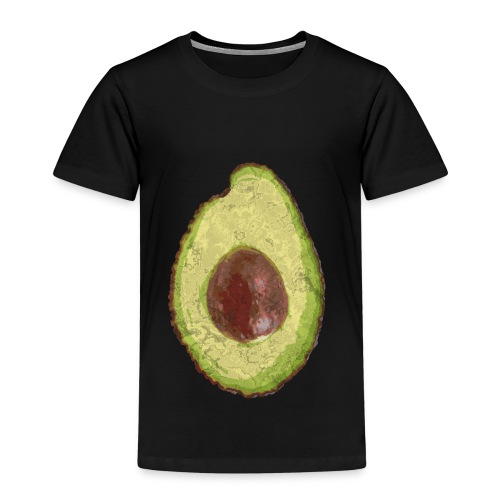 Trendy Yummy Avocado Grunge Style - Kinder Premium T-Shirt