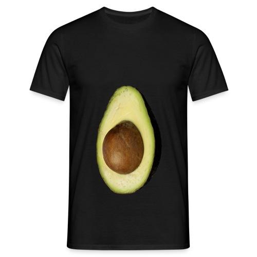 Real Photo Trendy AVOCADO vertikal - Männer T-Shirt