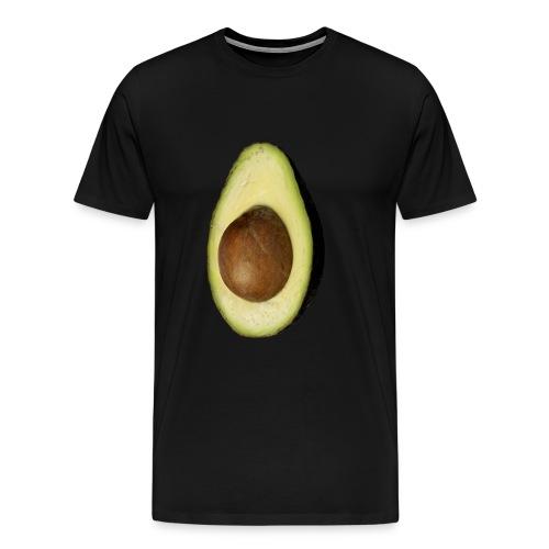 Real Photo Trendy AVOCADO vertikal - Männer Premium T-Shirt