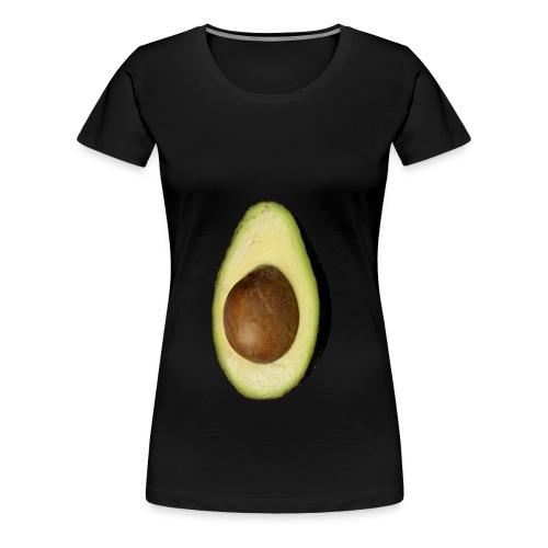 Real Photo Trendy AVOCADO vertikal - Frauen Premium T-Shirt