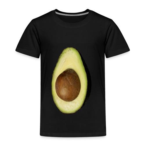Real Photo Trendy AVOCADO vertikal - Kinder Premium T-Shirt