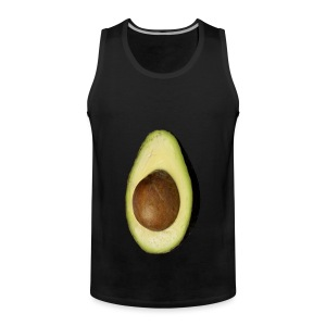 Real Photo Trendy AVOCADO vertikal - Männer Premium Tank Top