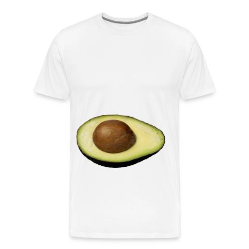 Real Photo Trendy AVOCADO - Männer Premium T-Shirt