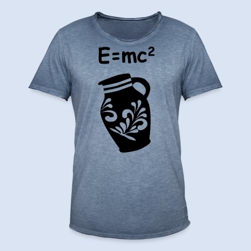 E = mc2 Relativitätstheorie - FRANKFURT DESIGN - Männer Vintage T-Shirt