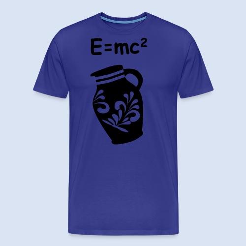 E = mc2 Relativitätstheorie - FRANKFURT DESIGN - Männer Premium T-Shirt