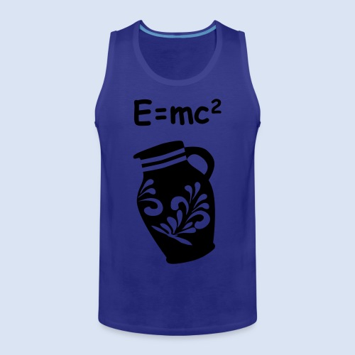 E = mc2 Relativitätstheorie - FRANKFURT DESIGN - Männer Premium Tank Top