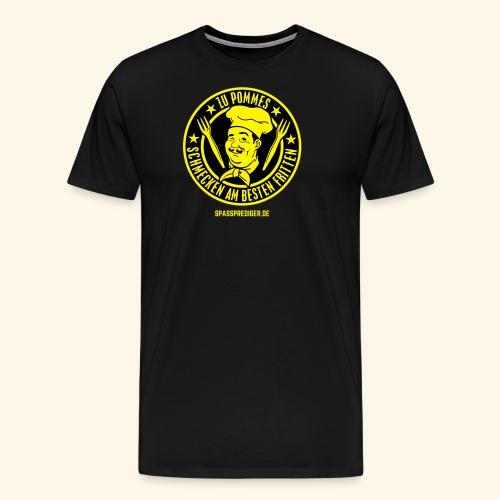 Pommes mit Fritten - Männer Premium T-Shirt
