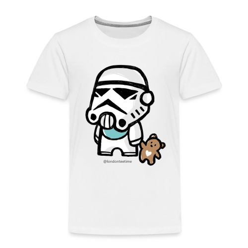 Stormtrooper_B/ blue - Kids' Premium T-Shirt