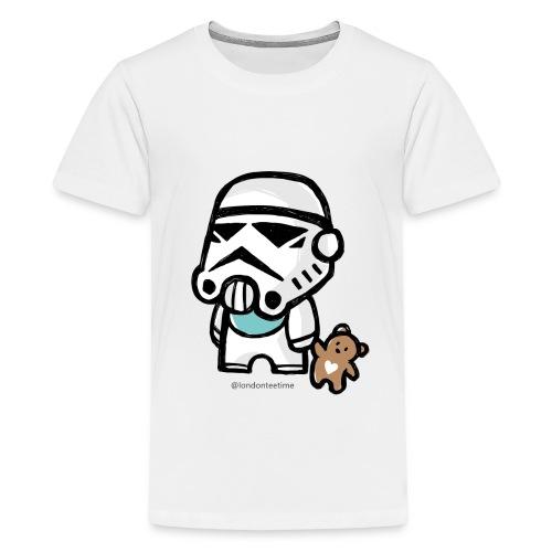 Stormtrooper_B/ blue - Teenage Premium T-Shirt